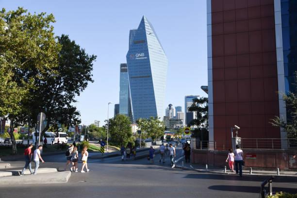 qnb finansbank - wiedenmeier istanbul stock-fotos und bilder