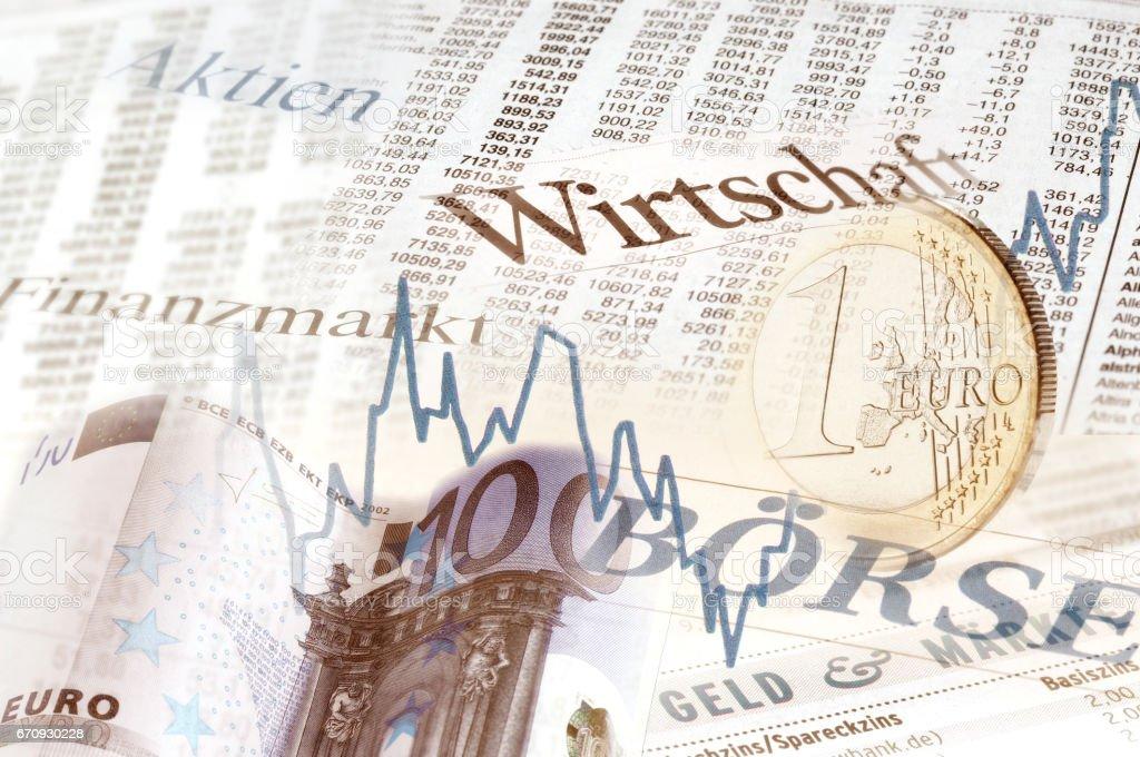 Finanzmarkt stock photo