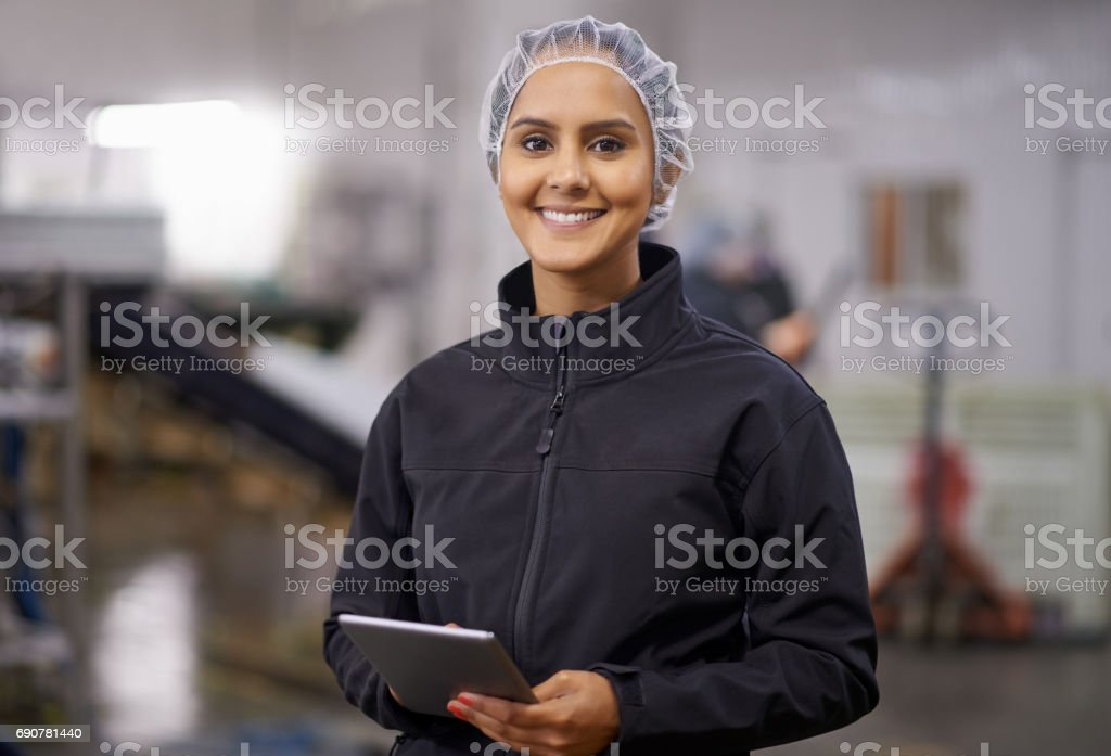 Find a job that makes you smile stock photo