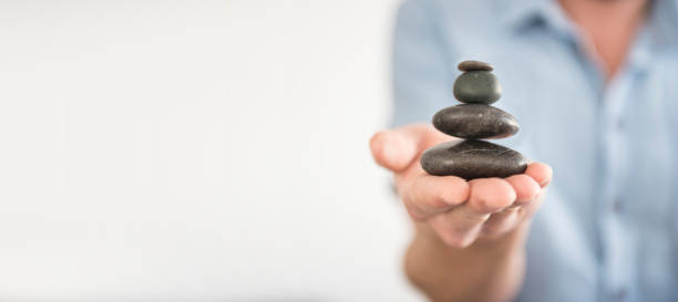 Find Balance stock photo