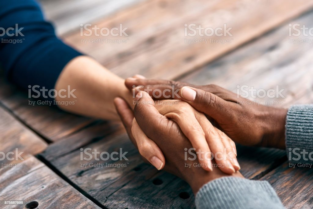 I find comfort in being with you stock photo