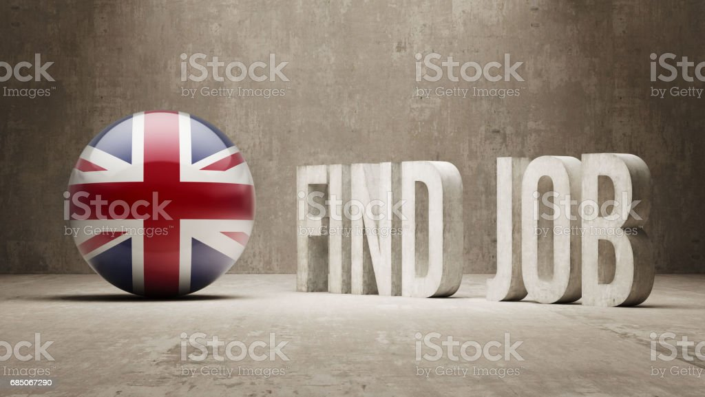 Find Job royalty-free stock photo