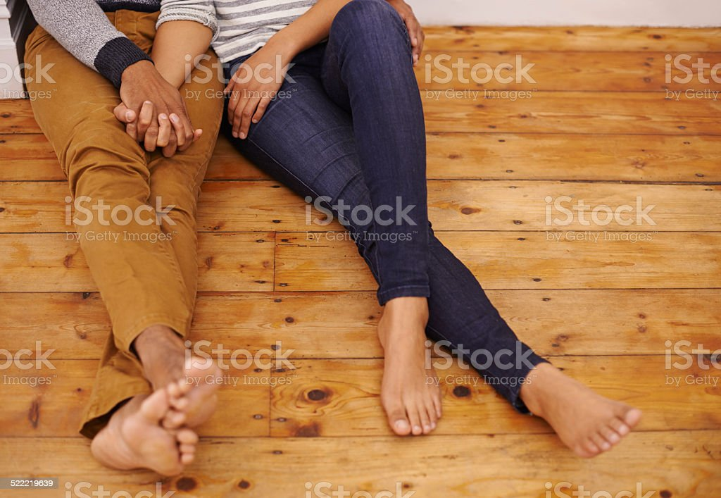 Find love anywhere stock photo