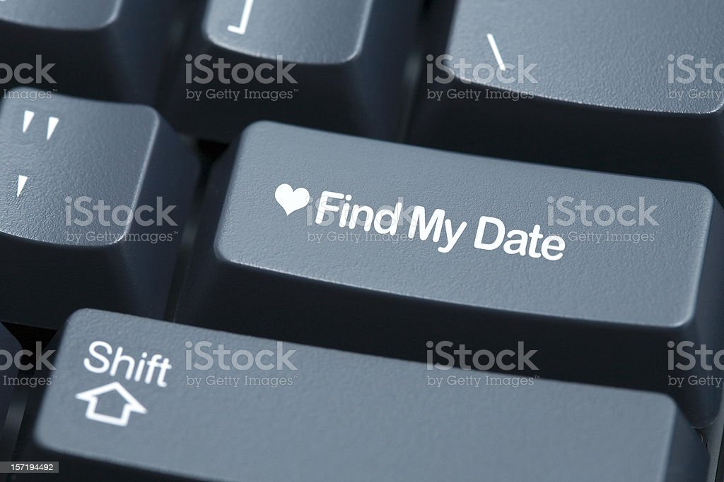 Find My Date royalty-free stock photo