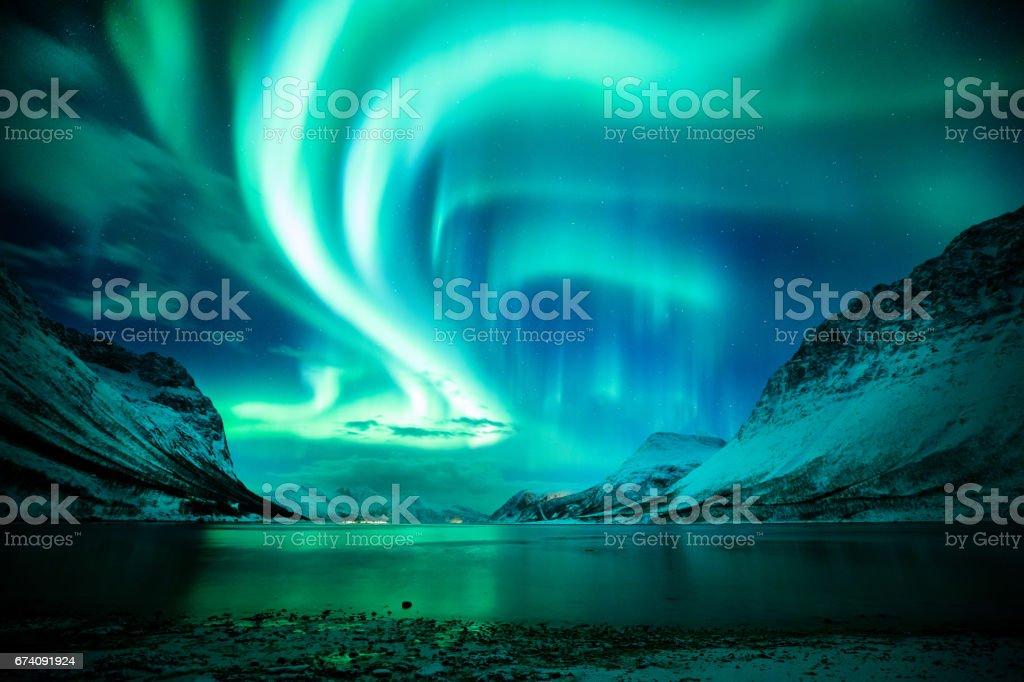 Find the aurora stock photo