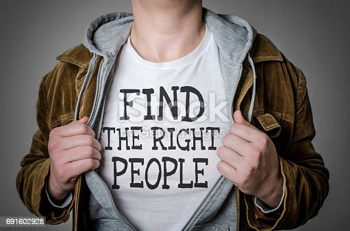 istock Find the right people 691602928