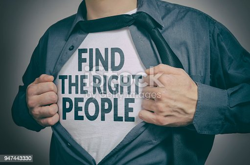 istock Find the right people 947443330