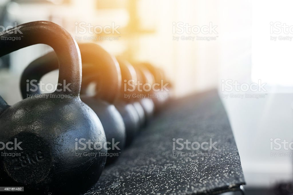 Find the weight that suits you stock photo