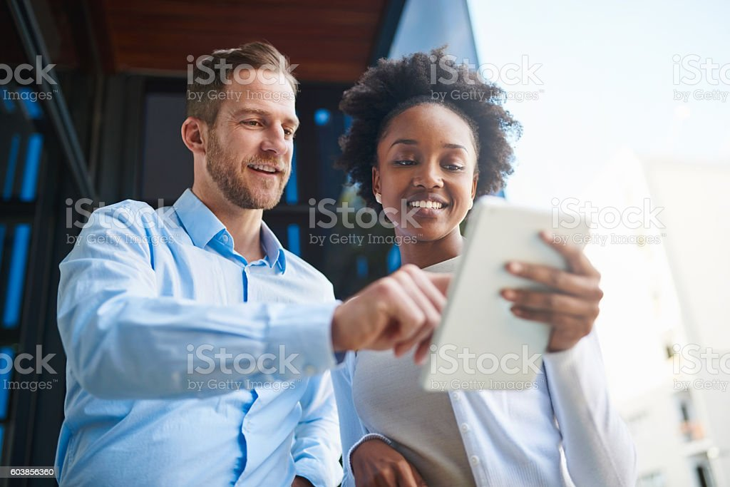 I find this app very useful stock photo