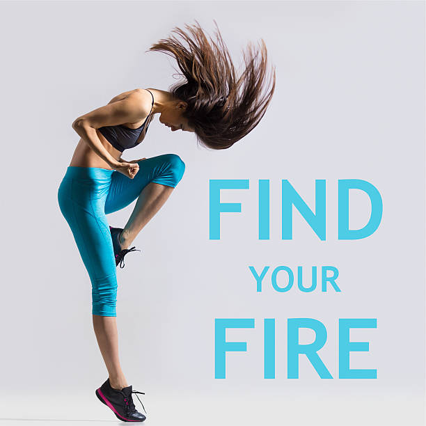 find your fire - fotografie zitat stock-fotos und bilder