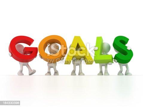 istock Find your Goals 184330398