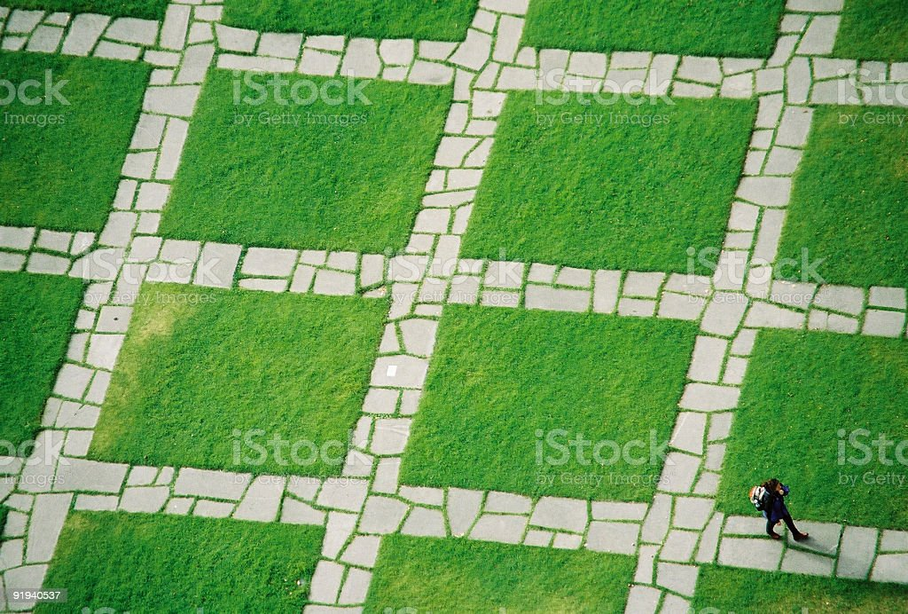 Find your way royalty-free stock photo