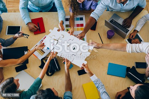istock Finding a solution 881921586