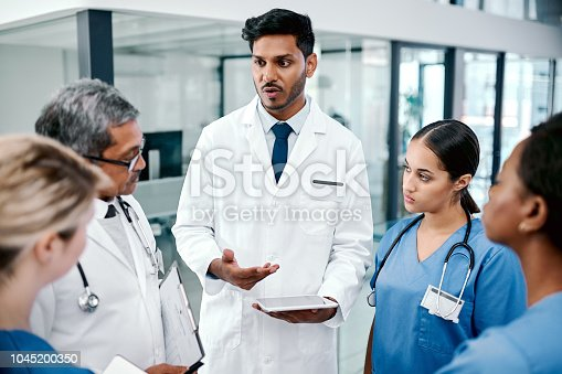 istock Finding different ways to treat the patient 1045200350