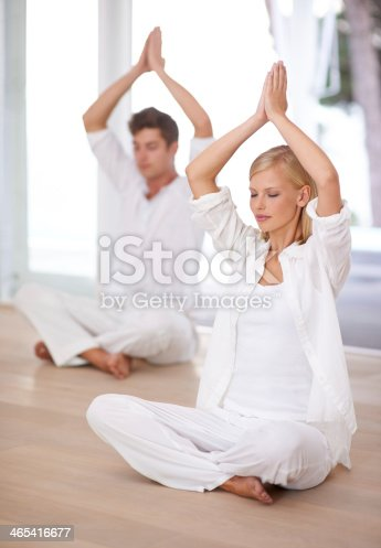 1060280760istockphoto Finding inner peace together 465416677