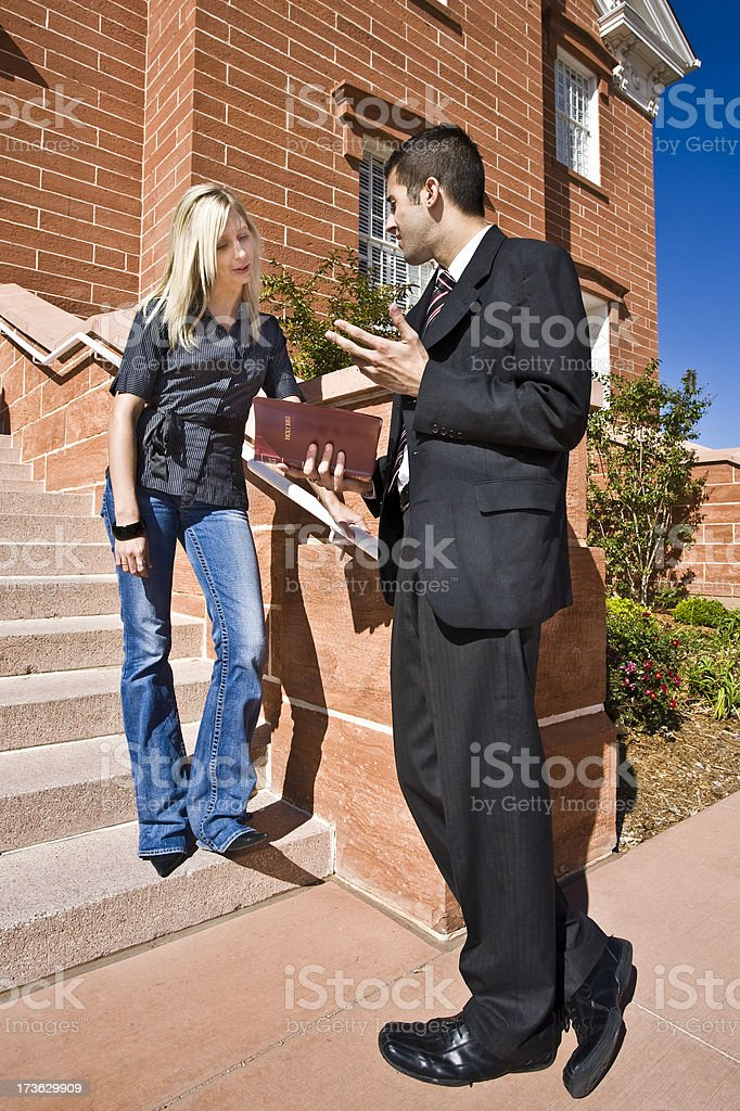 Finding Religion. royalty-free stock photo