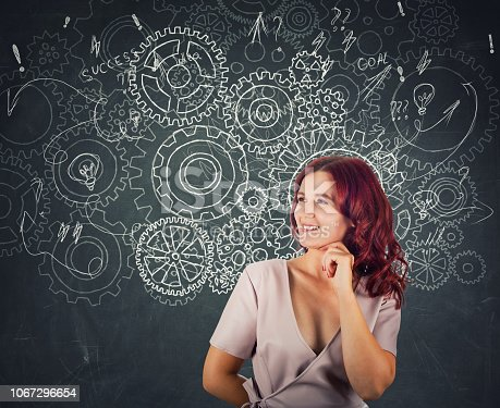 istock Finding solution to problem 1067296654