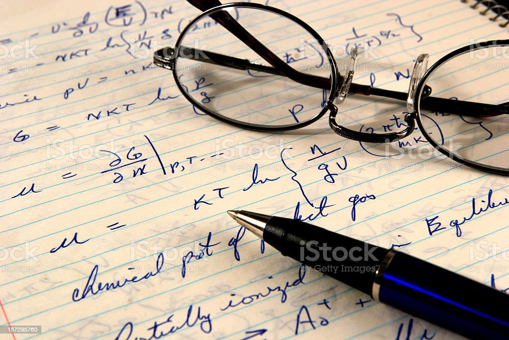 Finding the answer royalty-free stock photo