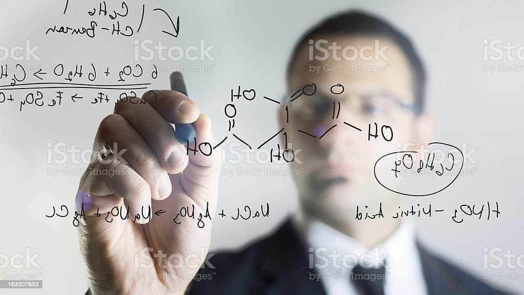 finding the formula stock photo