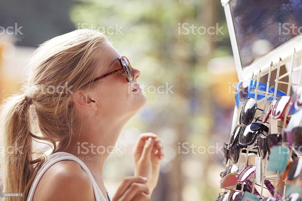 Finding the perfect pair stock photo