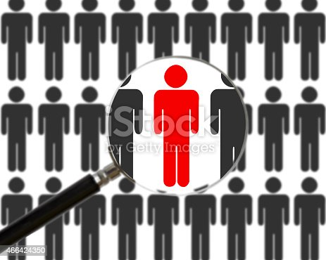 istock Finding the right person 466424350