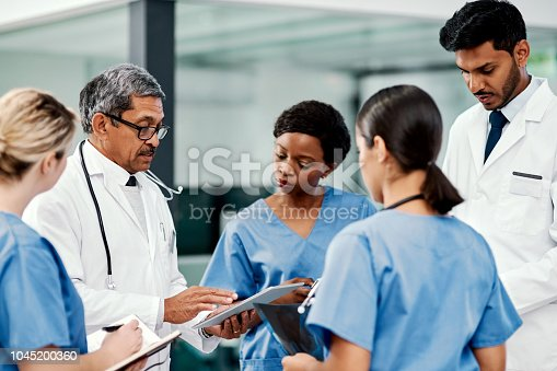 istock Finding ways to lead their patients to better health 1045200360