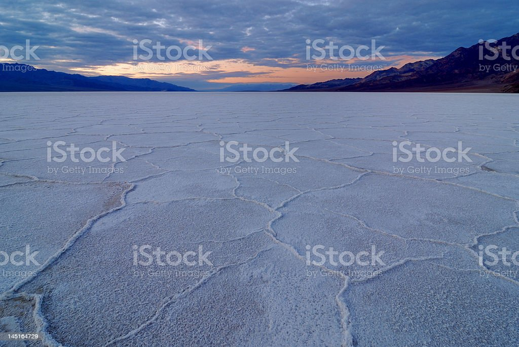 Fine Area of Bad Water Basin royalty-free stock photo