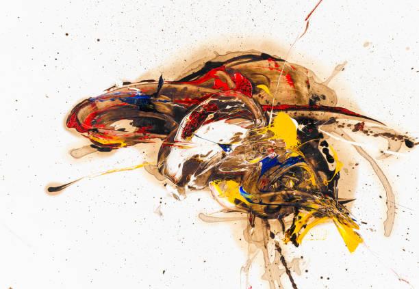 Fine art artist's design stock photo