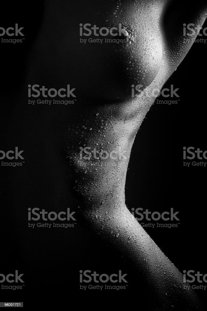 Arte nude femmina foto stock royalty-free