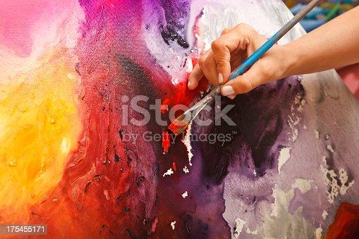 istock Fine art painter 175455171