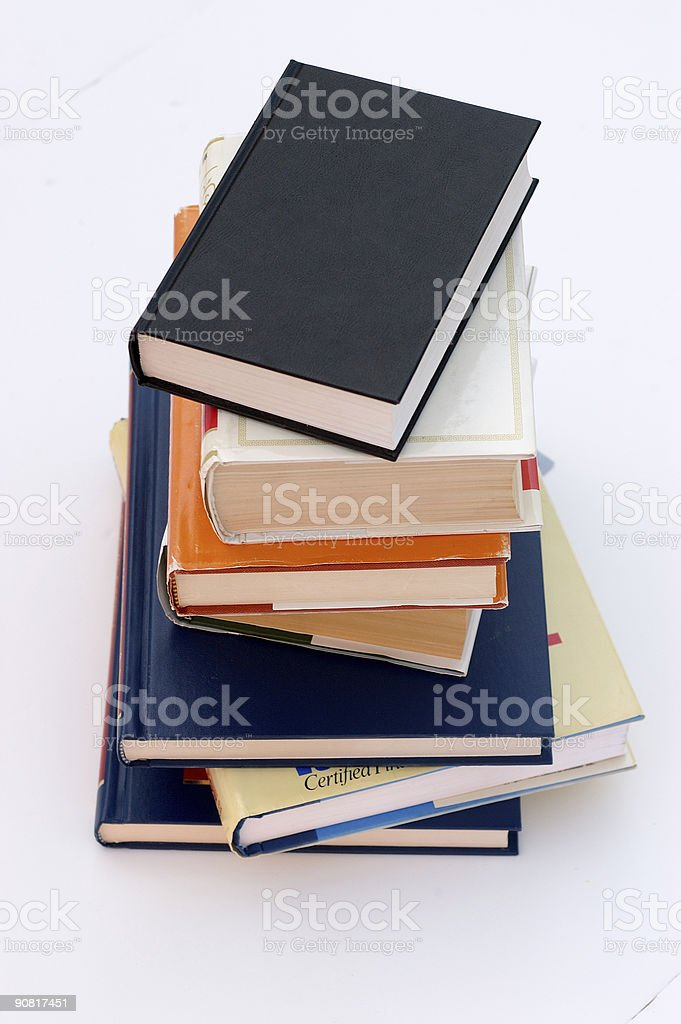 fine books no.2 royalty-free stock photo