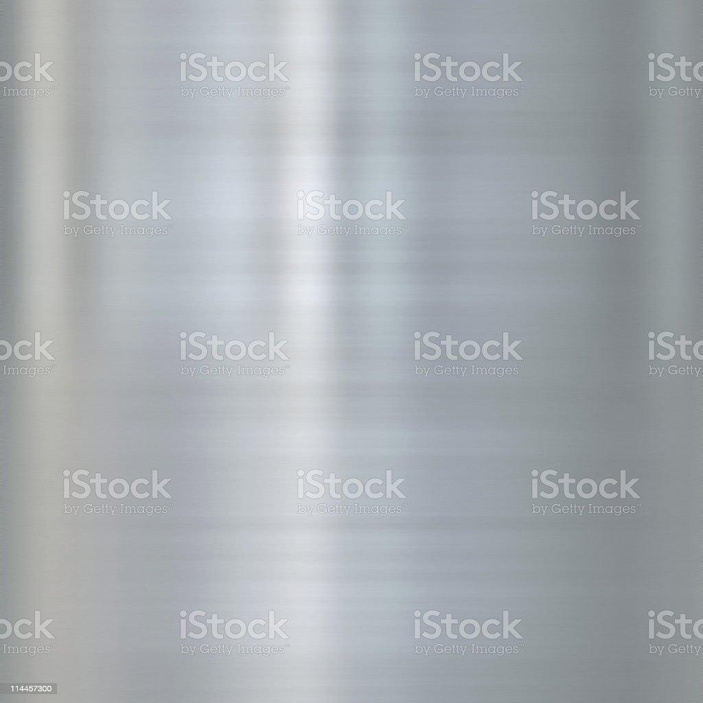fine brushed steel or aluminium metal background texture stock photo
