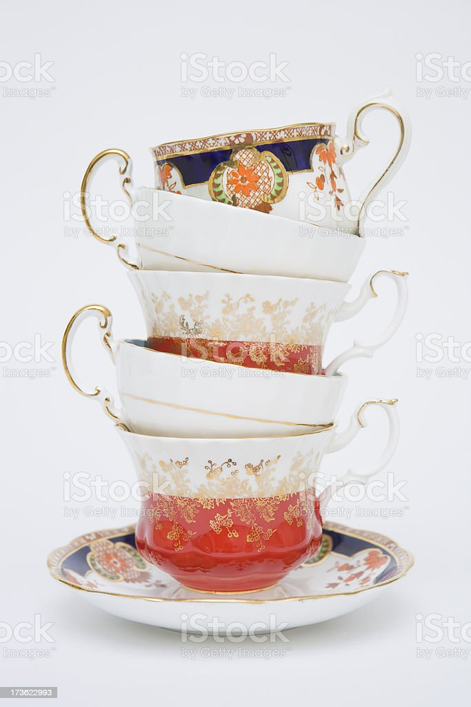 Fine China stock photo