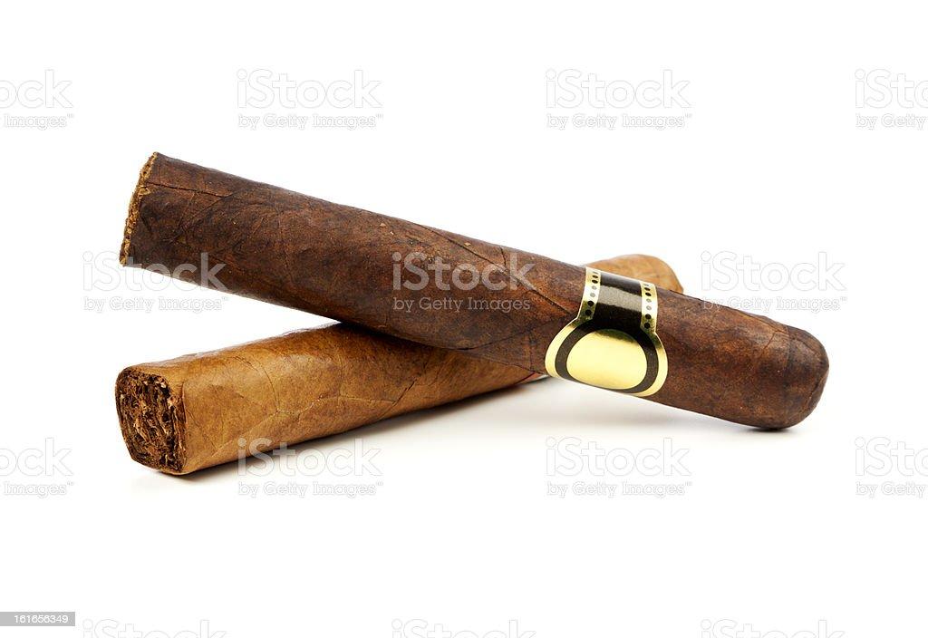 Fine Cigars stock photo