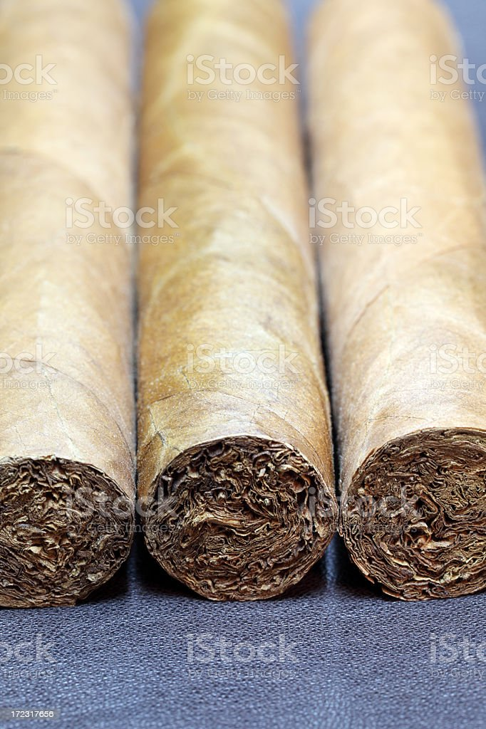 Fine cuban cigars royalty-free stock photo