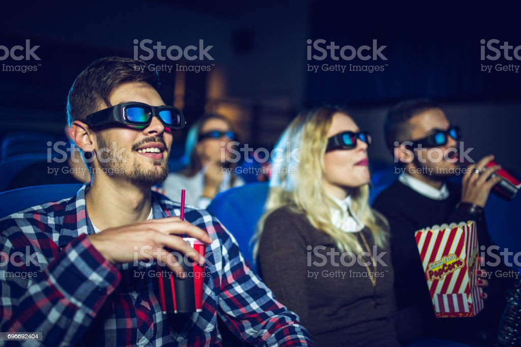 Fine day with friends stock photo