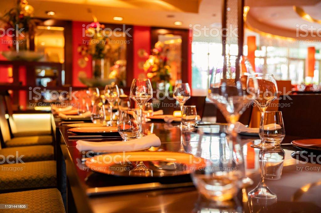 Luxury, Fine Dining, Indian Restaurant, Dubai - Interior Elements of...