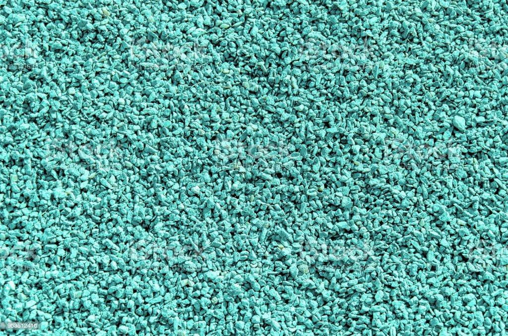 Fine grained gravel, green stock photo