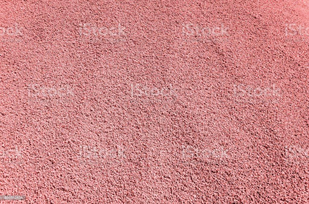 Fine grained gravel, red stock photo