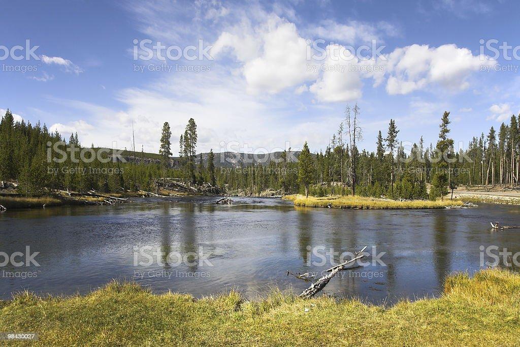 Fine lake royalty-free stock photo