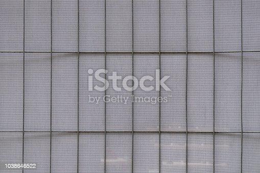 istock Fine metal fence 1038646522
