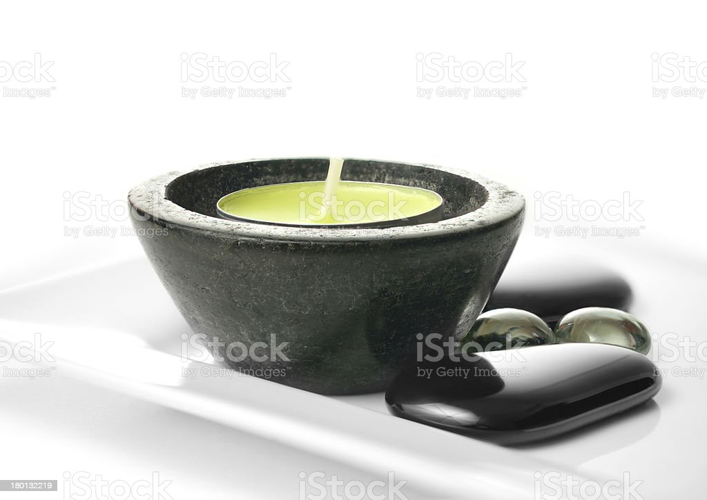 Fine Relaxing Spa royalty-free stock photo