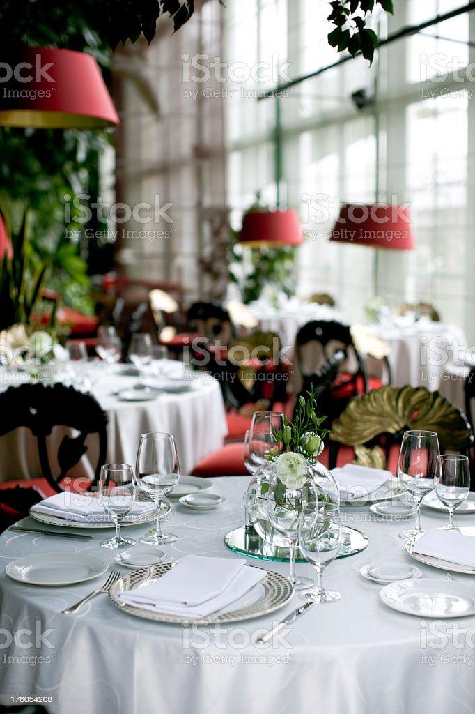 Fine Restaurant stock photo