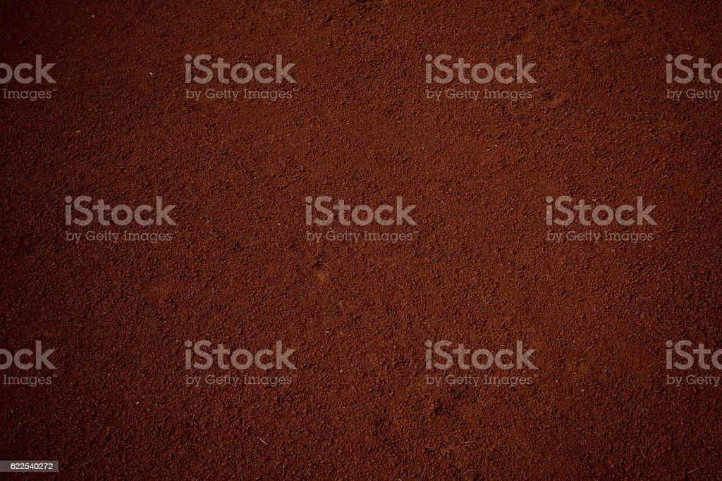 Fine soil stock photo