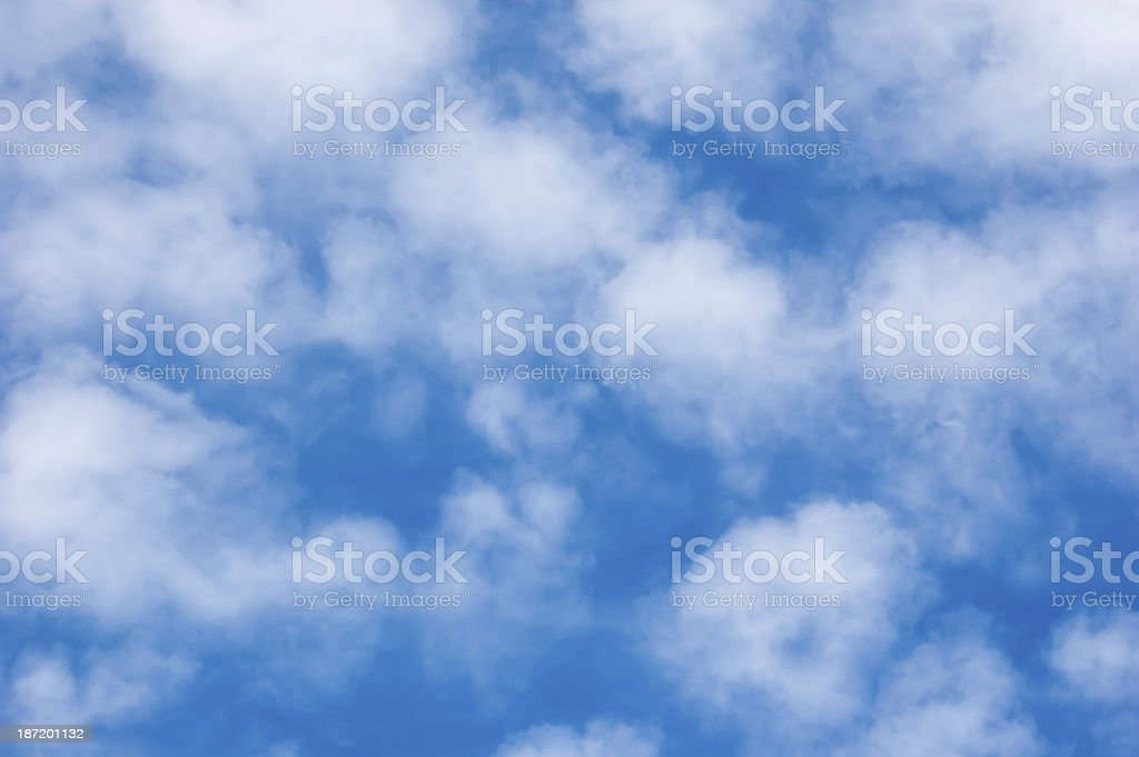 fine stratocumulus clouds stock photo