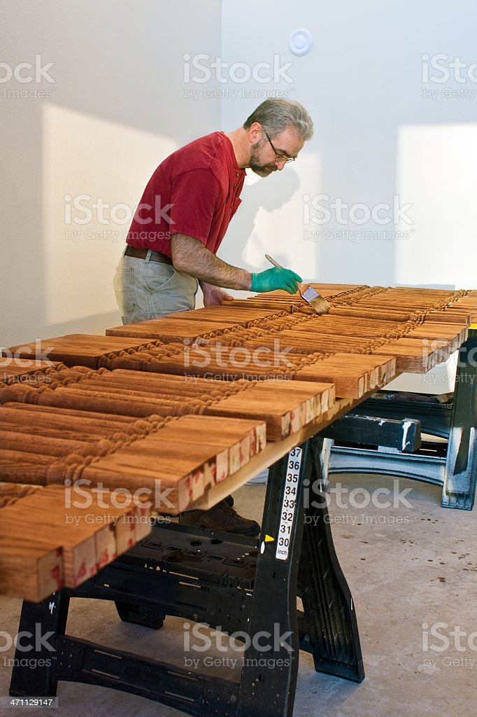 fine woodworking stock photo