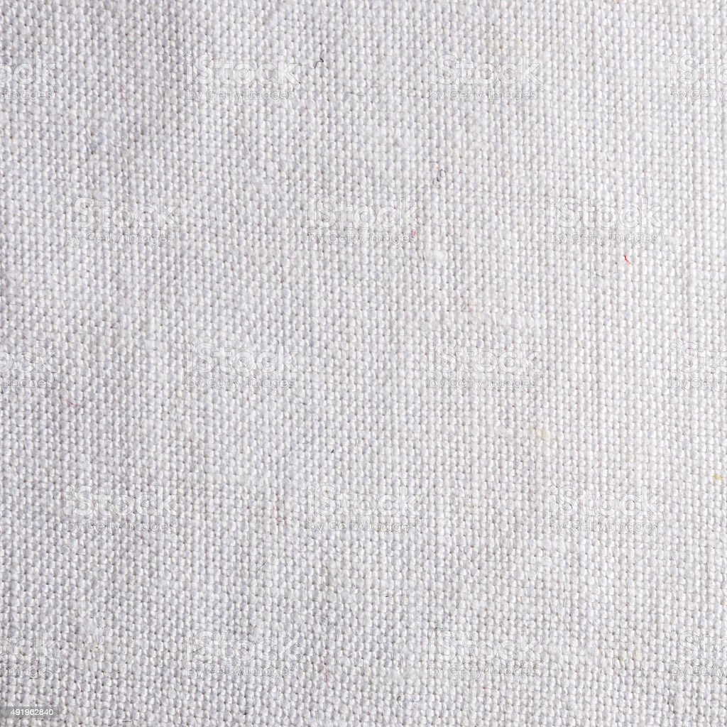 Fine Woven White Linen Fabric Texture Background Royalty Free Stock Photo