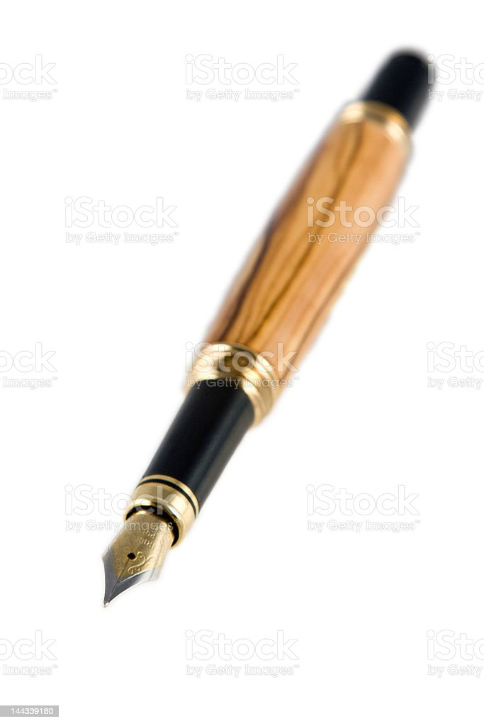 Fine Writing Instrument royalty-free stock photo