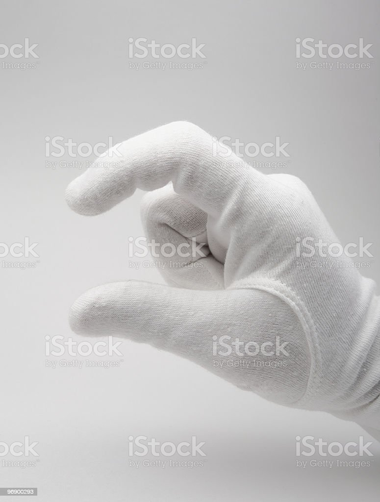 Finger communication royalty-free stock photo