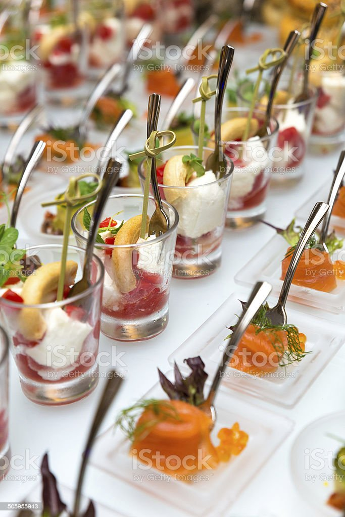 Finger Food Appetizer stock photo